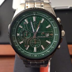 Chicane Chronograph Diver watch Green Face